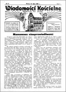 Wiadomości Kościelne : przy kościele św. Jana 1935-1936, R. 7, nr 35