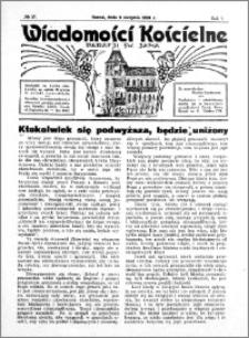 Wiadomości Kościelne : przy kościele św. Jana 1935-1936, R. 7, nr 37