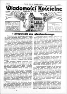 Wiadomości Kościelne : przy kościele św. Jana 1935-1936, R. 7, nr 38