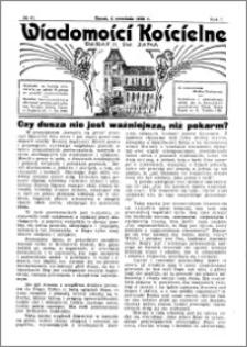 Wiadomości Kościelne : przy kościele św. Jana 1935-1936, R. 7, nr 41
