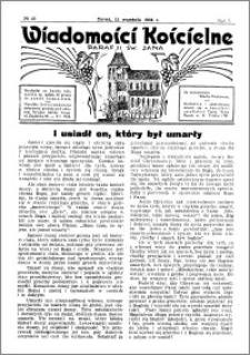 Wiadomości Kościelne : przy kościele św. Jana 1935-1936, R. 7, nr 42