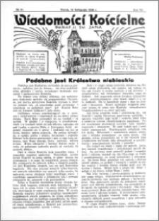 Wiadomości Kościelne : przy kościele św. Jana 1935-1936, R. 7, nr 51