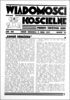 Wiadomości Kościelne : przy kościele św. Jana 1936-1937, R. 8, nr 24