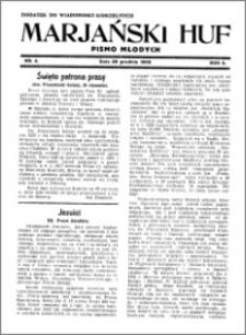 Marjański Huf 1936, R. 2, nr 4