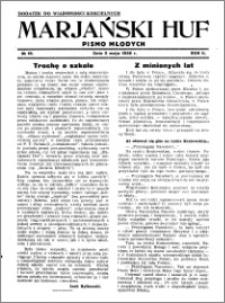 Marjański Huf 1936, R. 2, nr 19