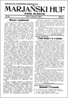 Marjański Huf 1936, R. 2, nr 32