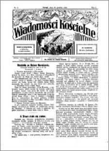 Wiadomości Kościelne : przy kościele N. Marji Panny 1929-1930, R. 1, nr 5