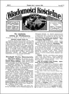Wiadomości Kościelne : przy kościele N. Marji Panny 1929-1930, R. 1, nr 27