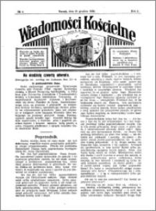 Wiadomości Kościelne : przy kościele N. Marji Panny 1930-1931, R. 2, nr 4