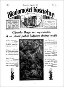 Wiadomości Kościelne : przy kościele N. Marji Panny 1930-1931, R. 2, nr 5