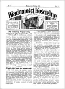 Wiadomości Kościelne : przy kościele N. Marji Panny 1930-1931, R. 2, nr 11