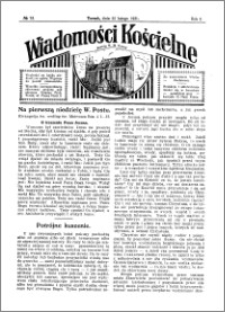 Wiadomości Kościelne : przy kościele N. Marji Panny 1930-1931, R. 2, nr 13