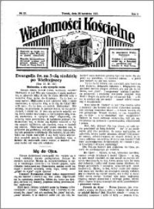 Wiadomości Kościelne : przy kościele N. Marji Panny 1930-1931, R. 2, nr 22