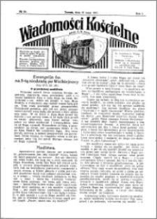 Wiadomości Kościelne : przy kościele N. Marji Panny 1930-1931, R. 2, nr 24