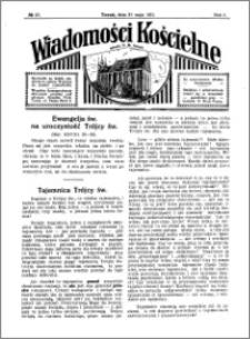 Wiadomości Kościelne : przy kościele N. Marji Panny 1930-1931, R. 2, nr 27