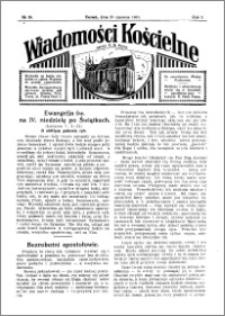 Wiadomości Kościelne : przy kościele N. Marji Panny 1930-1931, R. 2, nr 30