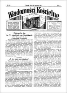 Wiadomości Kościelne : przy kościele N. Marji Panny 1930-1931, R. 2, nr 31