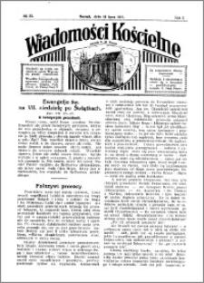 Wiadomości Kościelne : przy kościele N. Marji Panny 1930-1931, R. 2, nr 33