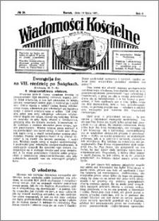 Wiadomości Kościelne : przy kościele N. Marji Panny 1930-1931, R. 2, nr 34