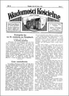 Wiadomości Kościelne : przy kościele N. Marji Panny 1930-1931, R. 2, nr 35