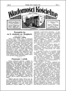 Wiadomości Kościelne : przy kościele N. Marji Panny 1930-1931, R. 2, nr 36