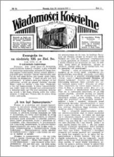 Wiadomości Kościelne : przy kościele N. Marji Panny 1930-1931, R. 2, nr 39