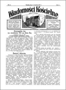 Wiadomości Kościelne : przy kościele N. Marji Panny 1930-1931, R. 2, nr 41