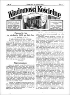 Wiadomości Kościelne : przy kościele N. Marji Panny 1930-1931, R. 2, nr 44