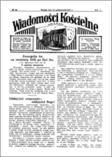 Wiadomości Kościelne : przy kościele N. Marji Panny 1930-1931, R. 2, nr 48