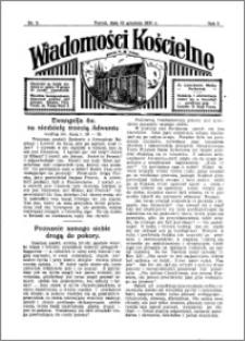 Wiadomości Kościelne : przy kościele N. Marji Panny 1931-1932, R. 3, nr 3