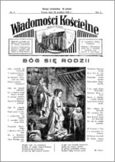 Wiadomości Kościelne : przy kościele N. Marji Panny 1931-1932, R. 3, nr 5