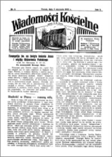 Wiadomości Kościelne : przy kościele N. Marji Panny 1931-1932, R. 3, nr 6