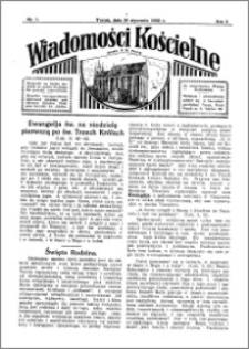 Wiadomości Kościelne : przy kościele N. Marji Panny 1931-1932, R. 3, nr 7