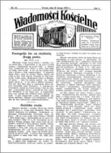 Wiadomości Kościelne : przy kościele N. Marji Panny 1931-1932, R. 3, nr 13