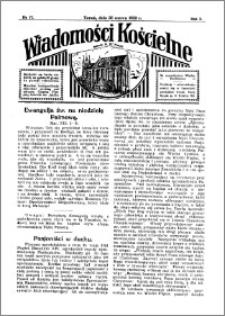 Wiadomości Kościelne : przy kościele N. Marji Panny 1931-1932, R. 3, nr 17