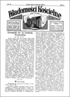 Wiadomości Kościelne : przy kościele N. Marji Panny 1931-1932, R. 3, nr 19