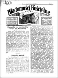 Wiadomości Kościelne : przy kościele N. Marji Panny 1931-1932, R. 3, nr 21