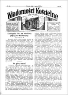 Wiadomości Kościelne : przy kościele N. Marji Panny 1931-1932, R. 3, nr 23