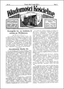 Wiadomości Kościelne : przy kościele N. Marji Panny 1931-1932, R. 3, nr 24