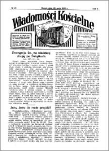 Wiadomości Kościelne : przy kościele N. Marji Panny 1931-1932, R. 3, nr 27