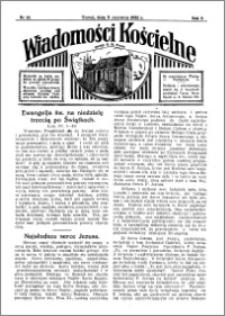 Wiadomości Kościelne : przy kościele N. Marji Panny 1931-1932, R. 3, nr 28