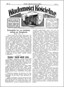 Wiadomości Kościelne : przy kościele N. Marji Panny 1931-1932, R. 3, nr 31