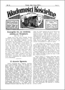 Wiadomości Kościelne : przy kościele N. Marji Panny 1931-1932, R. 3, nr 32