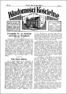 Wiadomości Kościelne : przy kościele N. Marji Panny 1931-1932, R. 3, nr 34