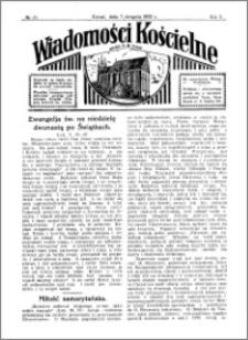 Wiadomości Kościelne : przy kościele N. Marji Panny 1931-1932, R. 3, nr 37