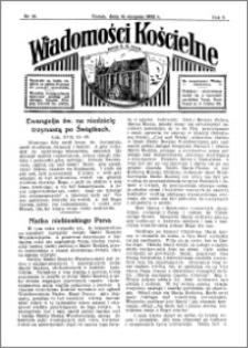 Wiadomości Kościelne : przy kościele N. Marji Panny 1931-1932, R. 3, nr 38