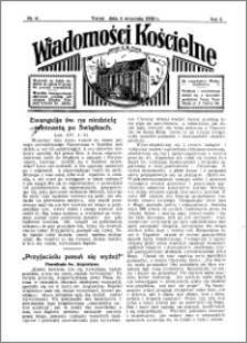 Wiadomości Kościelne : przy kościele N. Marji Panny 1931-1932, R. 3, nr 41