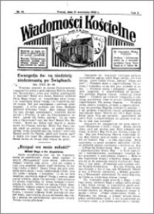 Wiadomości Kościelne : przy kościele N. Marji Panny 1931-1932, R. 3, nr 42