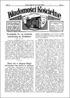 Wiadomości Kościelne : przy kościele N. Marji Panny 1931-1932, R. 3, nr 43
