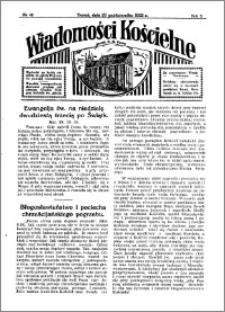 Wiadomości Kościelne : przy kościele N. Marji Panny 1931-1932, R. 3, nr 48
